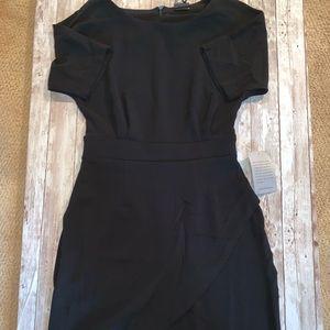 Bobeau Petites Black Cocktail Dress NWT